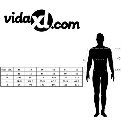 vidaXL Chaqueta de lentejuelas para esmoquin hombre plateada talla 54
