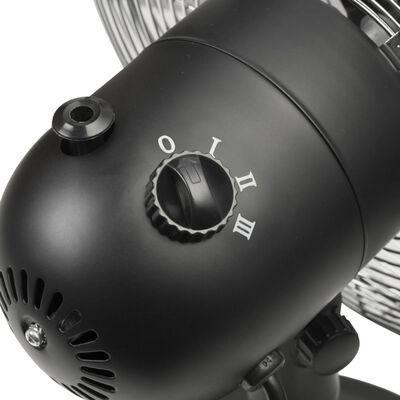 Bestron Ventilador de mesa retro DFT35Z negro 35 cm 35 W