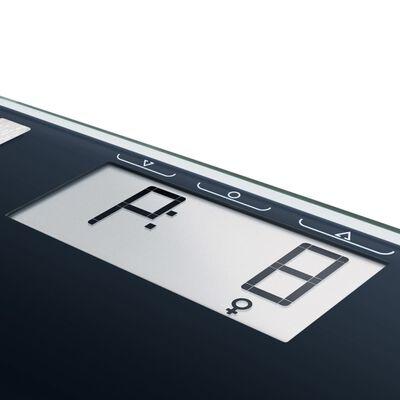 Soehnle Báscula de baño Shape Sense Control 100 180 kg negra 63857
