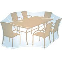 Funda Cubre Mesa Rectangul / Oval 100X280X20 - COLEMAN - 205692