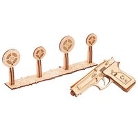 Wood Trick Maqueta a escala de escopeta de madera