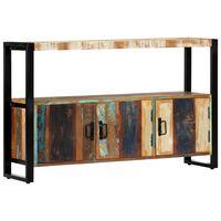 vidaXL Aparador de madera maciza reciclada 120x30x75 cm