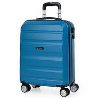 Maleta De Viaje 55x40x20 Cm Cabina Avion Trolley Abs Lisa Azul
