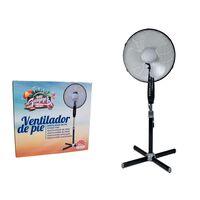 Ventilador Portátil - 40cm - 45w - Altura Ajustable - 3 Velocidades -