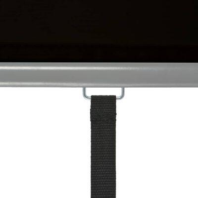 vidaXL Toldo lateral de balcón multifuncional 180x200 cm negro