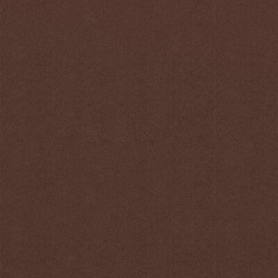 vidaXL Toldo para balcón de tela oxford marrón 75x600 cm