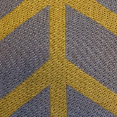Bo-Camp Alfombra de exterior Chill mat Flaxton armarillo ocre 2,7x2 m