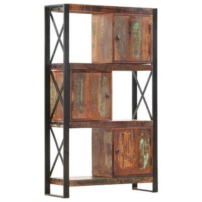 vidaXL Estantería de madera maciza reciclada 90x30x150 cm