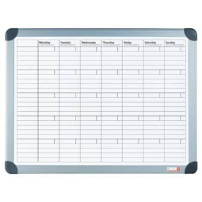 DESQ Planificador mensual magnético blanco 60x90 cm