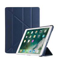 Funda para iPad de 9,7 pulgadas Smart Cover y soporte - azul oscuro