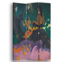 Biombo Fatata Te Miti - Paul Gauguin - Separador de Ambientes