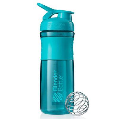 BlenderBottle Vaso mezclador SportMixer verde azulado 820 ml