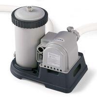 Intex Bomba de filtro de cartucho 9463 L/h 28634GS