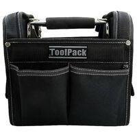 Toolpack Bolso de transporte de herramientas Solid negro