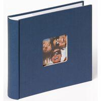 Walther Design Álbum de fotos Fun Memo azul 200 páginas 10x15 cm