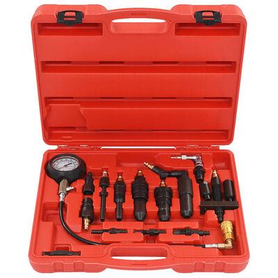 vidaXL Kit de comprobación de compresión de motor diésel