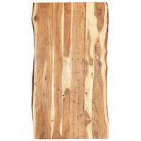 vidaXL Superficie de mesa de madera maciza de acacia 120x(50-60)x3,8 cm
