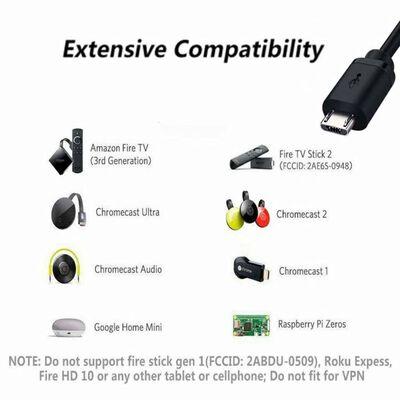 Adaptador micro USB a Ethernet 10/100 Mbps para reproductores multimed