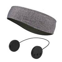 Diadema con micrófono y auriculares Bluetooth - gris