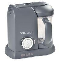 Beaba Robot de cocina de bebés 4 en 1 Babycook Solo 1100ml gris oscuro