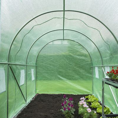 Nature Invernadero verde 3,5x2x2 m