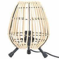 vidaXL Lámpara de pie de mesa Willow 60 W 20x27 cm E 27