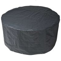 Nature Funda de muebles de jardín para mesa redonda 118x70cm