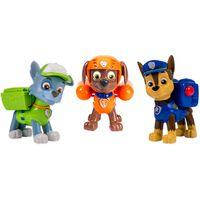 Paw Patrol Figuritas de los cachorros Rocky/Zuma/Chase