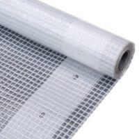 vidaXL Lona impermeable 260 g/m² 2x2 m blanca