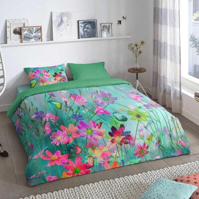 Good Morning Funda de edredón BELLE 200x200/200 cm multicolor