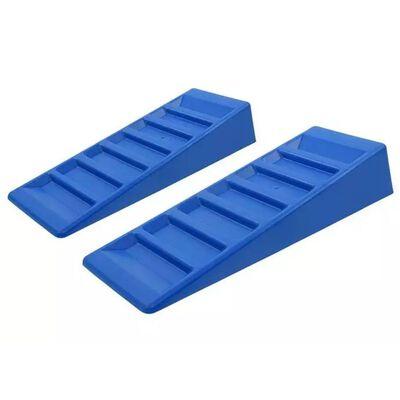 ProPlus Nivelador de caravana 2 piezas plástico azul 75 mm