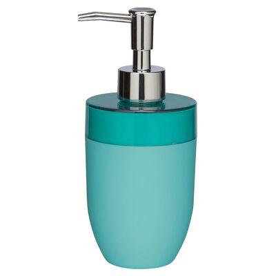 Dispensador de jabón Sealskin Bloom 361770230, color Aqua