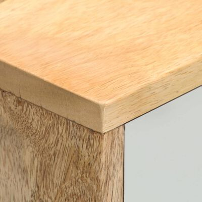 vidaXL Mueble para TV de madera maciza de mango 110x35x48 cm