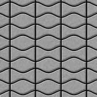 ALLOY Kismet & Karma-S-S-B Mosaico de metal Acero inoxidable gris