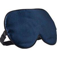 Mascarilla Para Dormir - 100% Seda Pura - Azul Oscuro