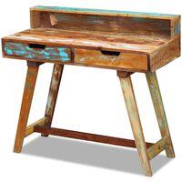 vidaXL Escritorio de madera maciza reciclada