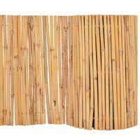 vidaXL Valla cañizo de jardín de bambú 500x50 m