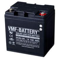 Batería de ciclo profundo AGM VMF DC28-12S, 12 V, 28 Ah