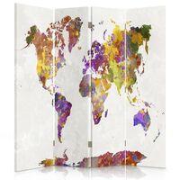 Biombo Multi Coloured Map - Separador de Ambientes