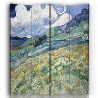Biombo Vista Desde Saint-Remy - Vincent Van Gogh