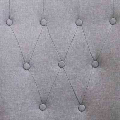 vidaXL Sillas de comedor con reposabrazos 2 unidades tela gris claro
