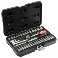 YATO Juego de herramientas 38 piezas metal negro YT-14471