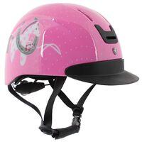 HORKA Casco de equitación Horsy talla S/M rosa 110100-0023