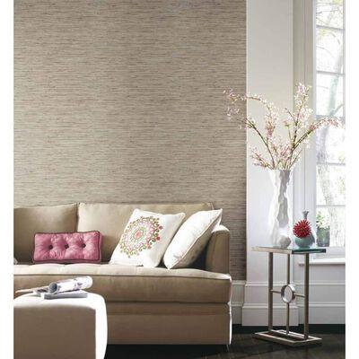 RoomMates Papel de pared adhesivo grasscloth beige RMK9031WP