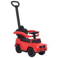vidaXL Coche de empuje para niños Mercedes Benz G63 rojo