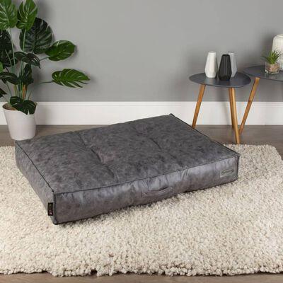 Scruffs & Tramps Colchón para perros Knightsbridge gris L 100x70 cm