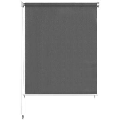 vidaXL Persiana enrollable de exterior 180x230 cm gris antracita
