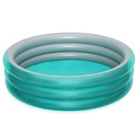 Bestway Piscina Big Metallic redonda azul 201x53 cm