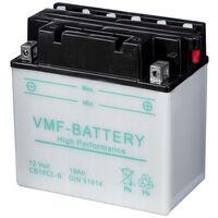 Batería para motocicletas VMF Powersport 12 V 19 Ah CB16CL-B