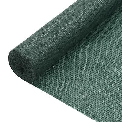vidaXL Red de privacidad HDPE verde 1,8x10 m 195 g/m²
